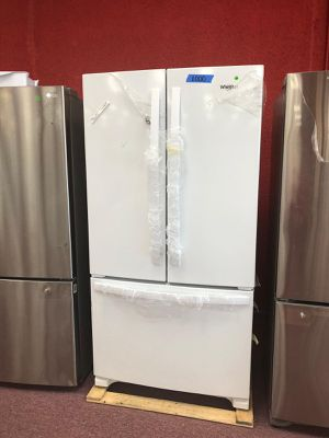French door refrigerator whirlpool, white (Comercial) for Sale in Fort Lauderdale, FL