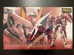Bandai RG 1/144 OO Raiser - Trans-am Clear Limited edition for Sale in Santa Ana, CA