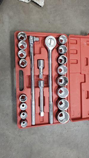Tekton 3/4 drive socket set for Sale in Auburn, IN