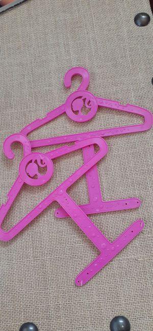 $1 Lot of 2 Barbie Clothes Hangers for Sale in Hemet, CA