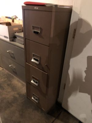 Fireproof File cabinet for Sale in San Francisco, CA