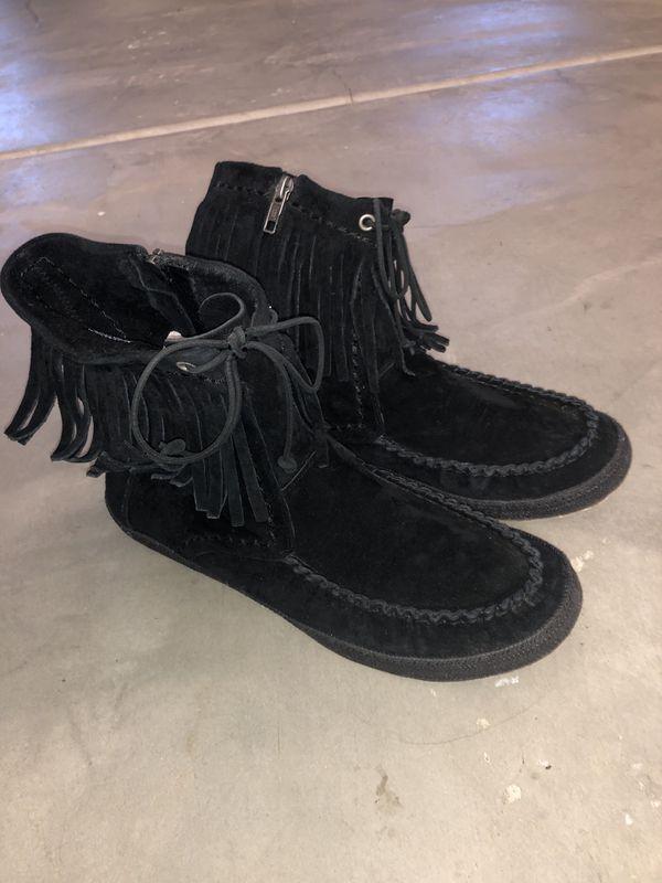 UGG Shenendoah Fringe Ankle Boot