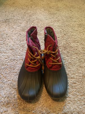 SPERRY TOP- SIDER RAIN BOOTS for Sale in Chattanooga, TN