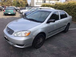 2004 Toyota Corolla CE Manual for Sale in Walnut Creek, CA