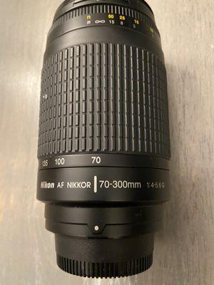 Nikon AF Nikkor 70-330 mm lens for Sale in Lutz, FL