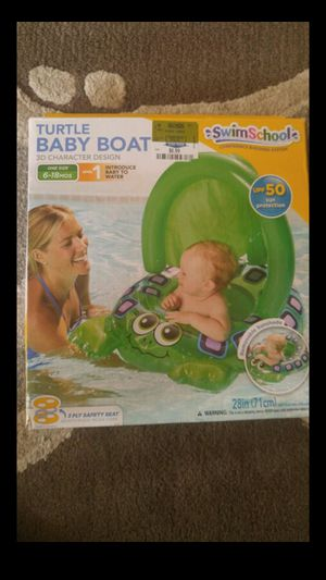 Infant Baby Boat for pool for Sale in Bowie, MD