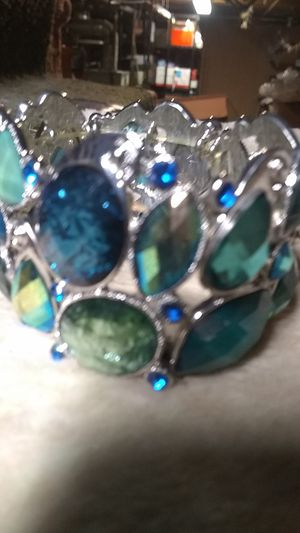 New stretch bracelet. NOT real silver for Sale in Freeland, PA