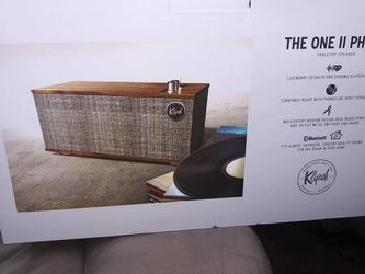 kLIPSCH The One Two Phono Brand New In Box for Sale in Federal Way,  WA