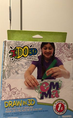 I Do 3D Draw in 3D starter set for Sale in Boston, MA