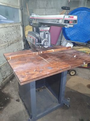Sears Craftsman radial arm saw for Sale in Evansville, IN