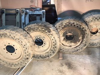Bobcat Solid Rubber Tires - 4 for Sale in Issaquah,  WA