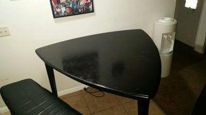 Black dinette set bar height for Sale in Newark, CA