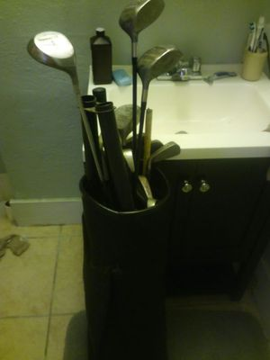 Golf clubs 2 bags for Sale in Dallas, TX