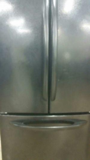 Black French door refrigerator for Sale in Alexandria, VA