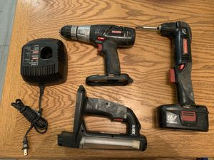 Craftsman 19.2 V right angle drill, drill, light, charger, excellent working battery All for $30 firm for Sale in Palm Harbor, FL