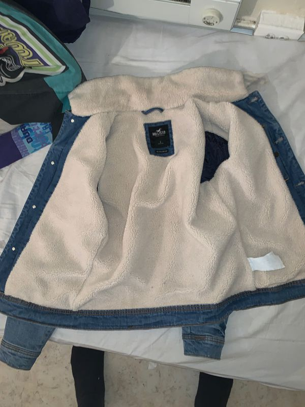 Brand new hollister Jean jacket