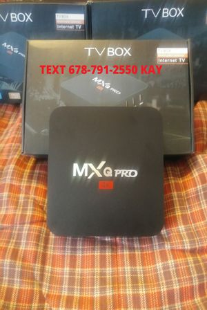 ANDROID 4K Ultra HD BOX ] Does more than the stick ] Pro setup for Sale in Conley, GA