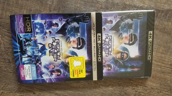 Ready player one 4k UHD 2 disc set NEW