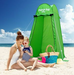 NEW Outdoor Changing Room Beach Shower Restroom Green Portable Pop Up Tent Camping Hiking for Sale in Las Vegas, NV