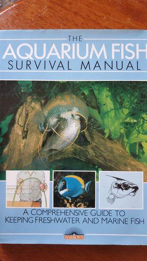 The Aquarium Fish Survival Manual for Sale in Hollywood, FL