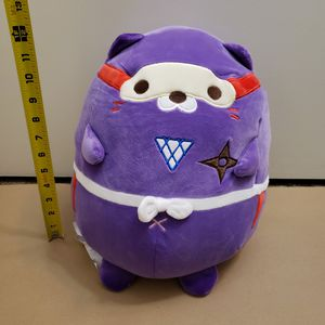 "~14"" Mochipuni picnyan piczo purple ninja cat for Sale in San Diego, CA"