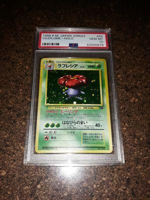 Pokemon Vileplume Japanese Jungle Set PSA10 GEM Mint for Sale in Queens, NY