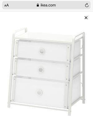 ikea 3 drawer organizer for Sale in Tualatin, OR