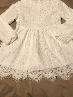 Girls White Lace Dress for Sale in Destrehan,  LA