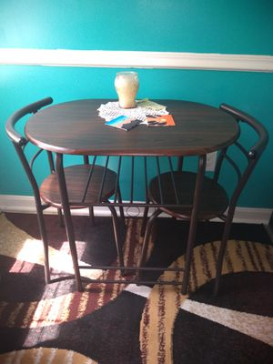 Breakfast Nook Table with 2 Chairs for Sale in Cleveland, OH