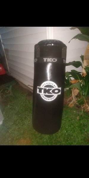 TKO punching bag for Sale in Pinellas Park, FL