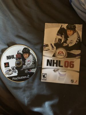 NHL 06 ps2 for Sale in Crest Hill, IL