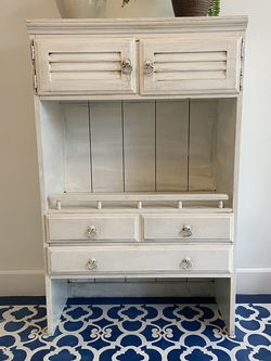 Vintage Armoire, White for Sale in San Diego,  CA