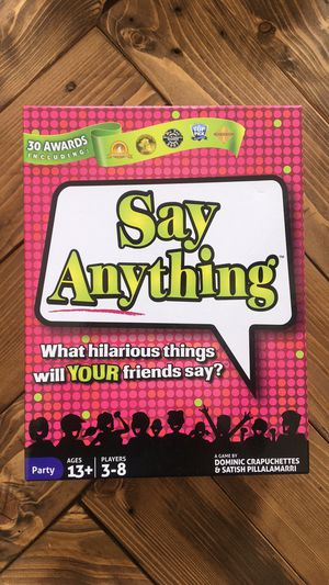 Say anything board game for Sale in Atlanta, GA