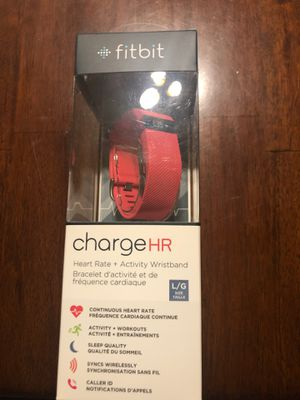Fitbit HR (pink) for Sale in Tucson, AZ