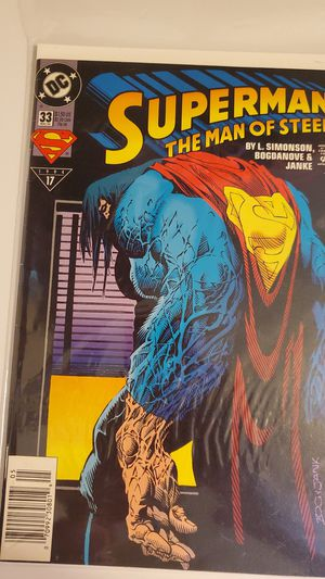 1994 Superman the Man of Steel comic book for Sale in Dixon, MO