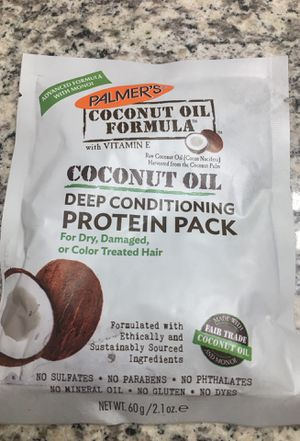 Coconut oil deep conditioner protein pack new for Sale in Riverside, CA