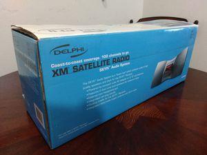 Delphi XM SkiFi Satellite Radio SA10001 Boombox Stereo System Antenna RETRO Dock Music Audio Speaker Portable Docking D Batteries RETRO for Sale in El Cajon, CA