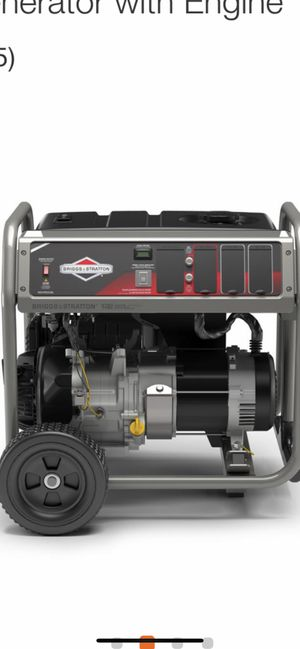 Brand new Briggs & Stratton 5,000-Watt Gasoline Powered Manual Start Portable Generator with Engine for Sale in San Jose, CA