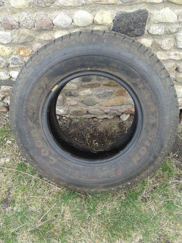 Goodyear Marathon Trailer Tire - ST 215/75R 14
