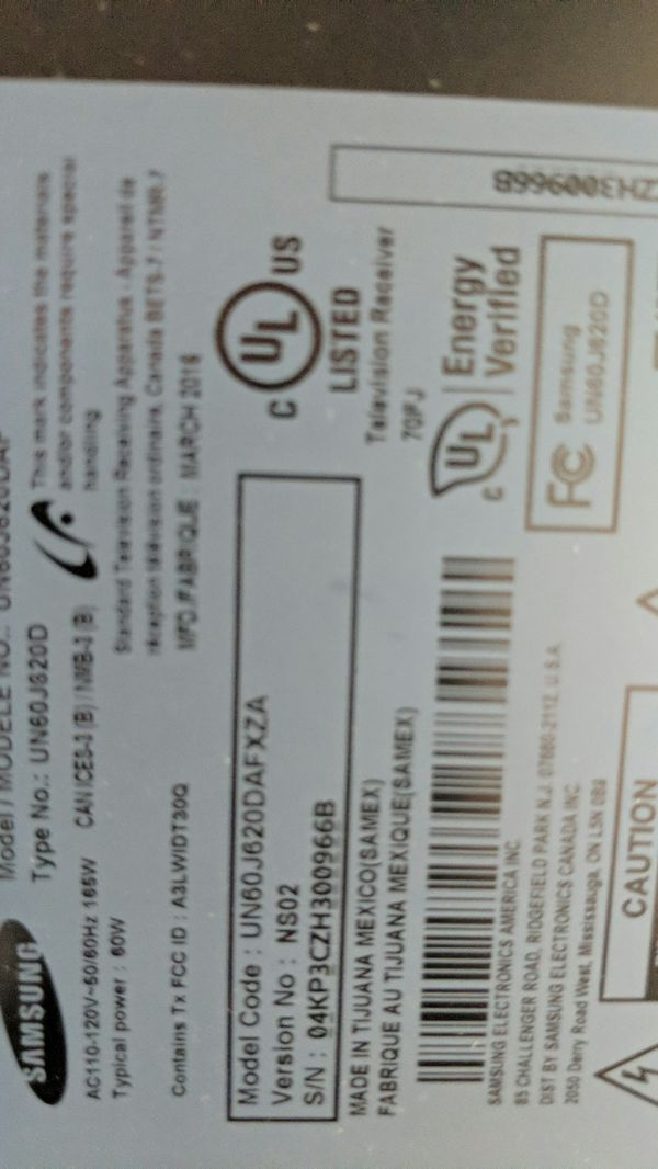 Samsung 60 inch tv backlight strips