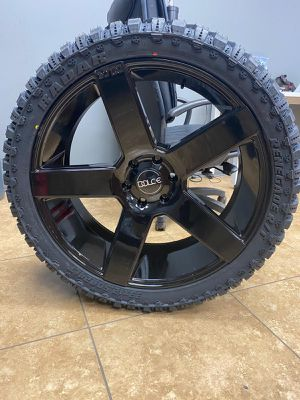 24x10 MONKEY RIMS AND TIRES 33125024 for Sale in Phoenix, AZ