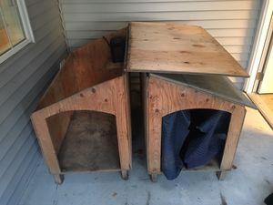 2 hand built dog houses for Sale in Oak Harbor, WA