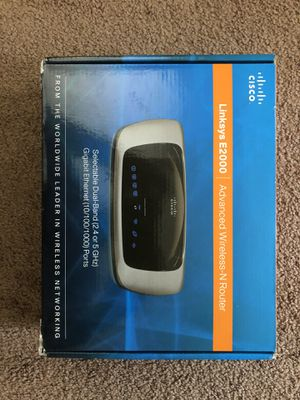 Cisco Wireless Router; Linksys E2000 great deal!! for Sale in West Covina, CA