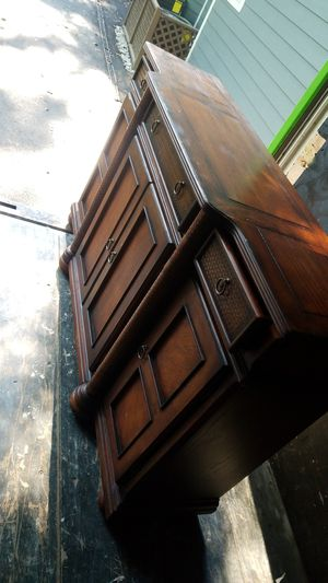 Cool dresser and tv stand needs to go asap for Sale in North Bethesda, MD