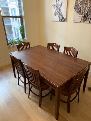 Dining room table and chairs for Sale in Arlington, VA