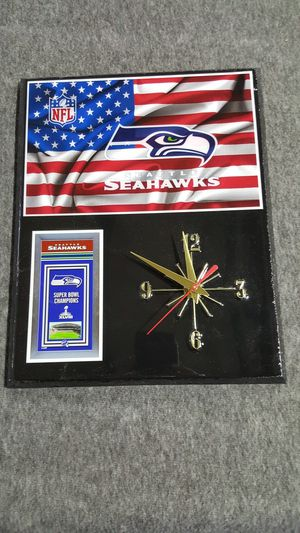 Seattle Seahawks S.B Clock for Sale in Poland, NY