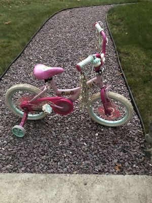 Disney Girls Toddler Bike with training wheels for Sale in Coventry, RI