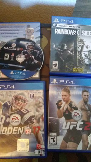 PS4 games for Sale in Spring Valley, CA