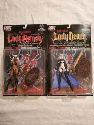 LADY DEATH AND LADY DEMON COLLECTOR'S ACTION FIGURES for Sale in Las Vegas, NV