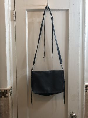Zara real leather black bag crossbody bag for Sale for sale  Queens, NY